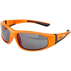 Alpina Flexxy Occhiali Bambino, orange-black
